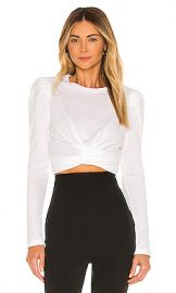 A L C  Mandy Tee in White from Revolve com at Revolve