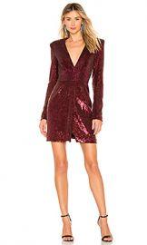 A L C  Mara Dress in Bordeaux from Revolve com at Revolve