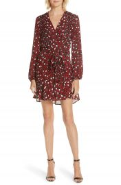 A L C  Michaela Silk Wrap Dress at Nordstrom