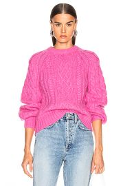 A L C  Mick Sweater in Bubblegum   FWRD at Forward