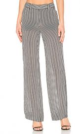 A L C  Miles Pant in Black  amp  White from Revolve com at Revolve