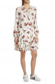 A L C  Rori Silk Drop Waist Dress at Nordstrom