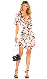 A L C  Ruthie Dress in Pink  Green  amp  Red from Revolve com at Revolve