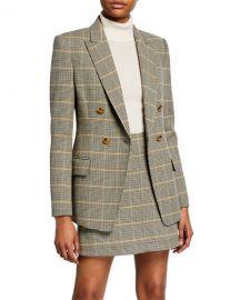 A L C  Sedgwick II Glen Plaid Jacket at Neiman Marcus