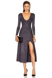 A L C  Serafina Dress in Black   Lavender   FWRD at Forward