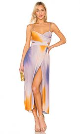 A L C  Sienna Ombre Dress in Multi from Revolve com at Revolve