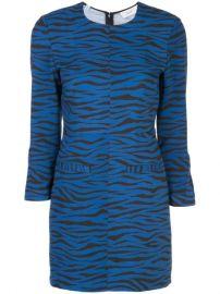 A L C  Stretch Fit tiger-print Dress - Farfetch at Farfetch