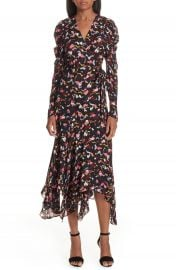 A L C  Tianna Silk Wrap Dress at Nordstrom