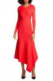 A L C  Viviana Asymmetrical Long Sleeve Dress   Nordstrom at Nordstrom