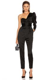 A L C  Walden Jumpsuit in Black   FWRD at Forward