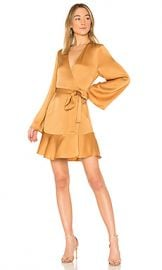 A L C  Whitney Dress in Caramel from Revolve com at Revolve
