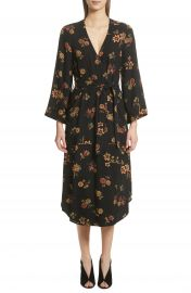 A L C  Wilma Silk Wrap Dress at Nordstrom