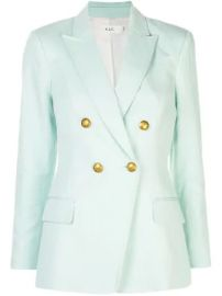 A L C  double breasted blazer double breasted blazer at Farfetch
