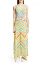 A-Line Crochet Maxi Dress at Nordstrom