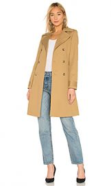 A P C  Alexis Trench Coat in Beige from Revolve com at Revolve