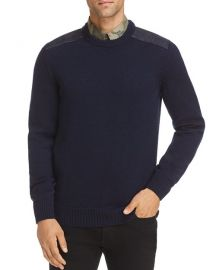 A.P.C. KARLHEINZ SHOULDER PATCH SWEATER at Bloomingdales