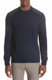 A P C  Karlheinz Wool Sweater at Nordstrom