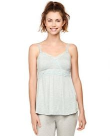 A Pea In The Pod Maternity Lace-Trim Sleep Tank at Macys