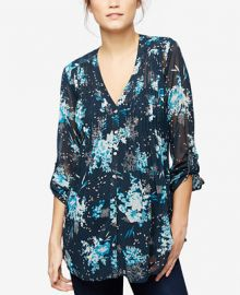 A Pea in the Pod Maternity Printed Blouse at Macys