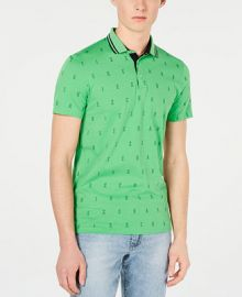 A X Armani Exchange Men s Slim-Fit Polo   Reviews - Polos - Men - Macy s at Macys