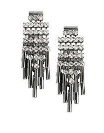 ABS Allen Schwartz Rhinestone Cluster Earrings at Lord & Taylor