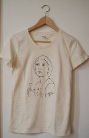 AD Self Portrait T-Shirt at Alela Diane