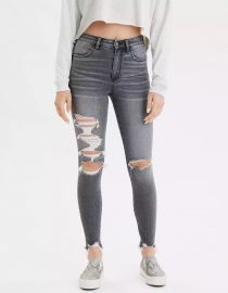 AE Ne(x)t Level Super High-Waisted Jegging by American Eagle at American Eagle