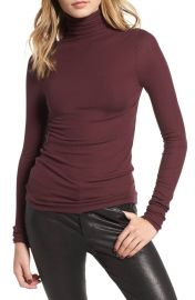 AG Chels Ribbed Turtleneck Sweater at Nordstrom