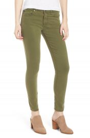 AG   x27 The Legging  x27  Ankle Jeans  Sulfur Olive Grove at Nordstrom