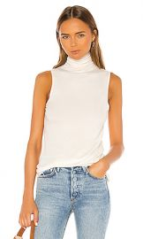 AG Adriano Goldschmied Sleeveless Chel in Ivory Dust from Revolve com at Revolve