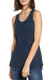 AG Coraline Ribbed Tank at Nordstrom