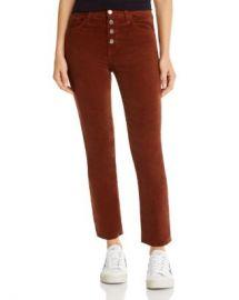 AG Isabelle Straight Corduroy Jeans  Women - Bloomingdale s at Bloomingdales