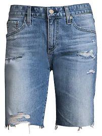 AG Jeans - Nikki Relaxed Skinny Denim Shorts at Saks Fifth Avenue
