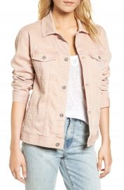 AG Nancy Distressed Denim Jacket at Nordstrom