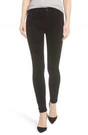 AG The Farrah High Waist Velvet Jeans   Nordstrom at Nordstrom