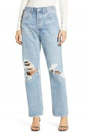 AGOLDE   x27 90s Ripped Loose Fit Jeans  Fall Out    Nordstrom at Nordstrom