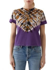 AGOLDE Tie-Dye Baby Tee Women - Bloomingdale s at Bloomingdales