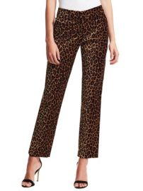 ALC Harrison Leopard Trousers at Saks Fifth Avenue