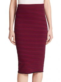 ALC - Delmar Striped Pencil Skirt at Saks Fifth Avenue