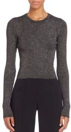 ALC Rene Ribbed Sweater at Saks Fifth Avenue