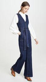 ALICE   OLIVIA JEANS Gorgeous V Neck Jumpsuit at Shopbop
