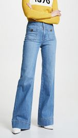 ALICE   OLIVIA JEANS Gorgeous Wide Leg Jeans at Shopbop