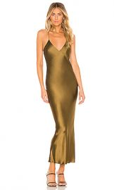 ALIX NYC Lewis Dress in Olive from Revolve com at Revolve