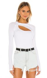 ALIX NYC Summit Bodysuit in White from Revolve com at Revolve