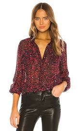ALLSAINTS Adeliza Plume Shirt in Pink from Revolve com at Revolve