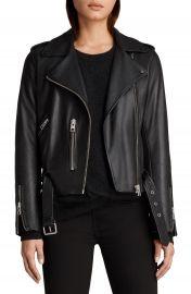 ALLSAINTS Balfern Leather Biker Jacket   Nordstrom at Nordstrom
