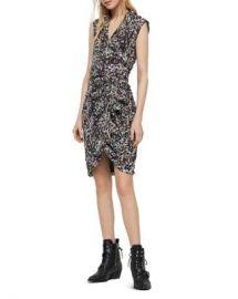 ALLSAINTS Cancity Leofall Leopard Print Wrap Dress - 100  Exclusive  Women - Bloomingdale s at Bloomingdales