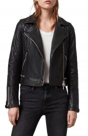 ALLSAINTS Conroy Leather Biker Jacket   Nordstrom at Nordstrom