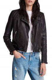ALLSAINTS Conroy Leather Biker Jacket   Nordstrom at Nordstrom
