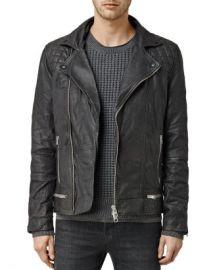 ALLSAINTS Conroy Leather Biker Jacket  Men - Bloomingdale s at Bloomingdales